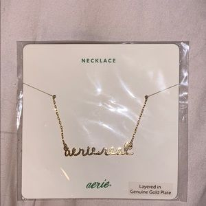aerie real necklace